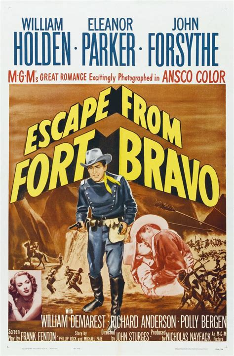 Escape from Fort Bravo - Great Western Movies