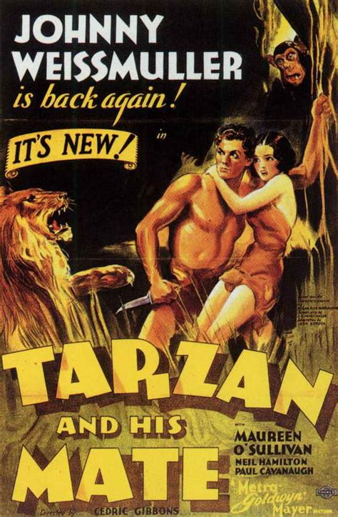 Tarzan and His Mate Movie Posters From Movie Poster Shop