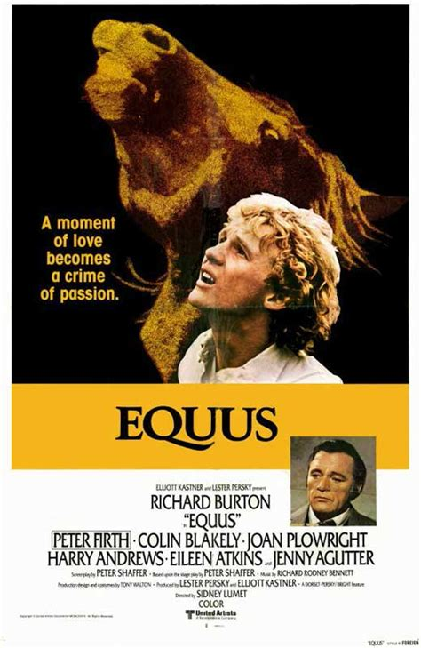 Equus Movie Posters From Movie Poster Shop