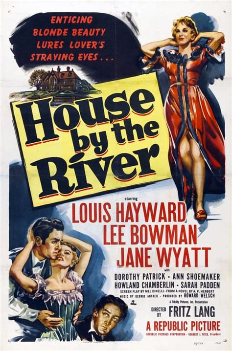 House by the River (1950) — The Movie Database (TMDb)