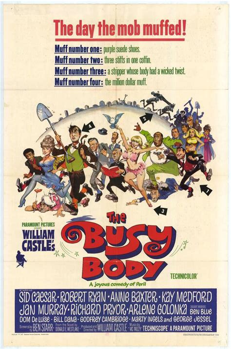 Busy Body Movie Posters From Movie Poster Shop
