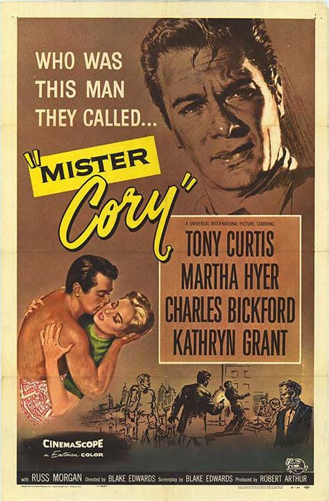 Mister Cory movie posters at movie poster warehouse ...