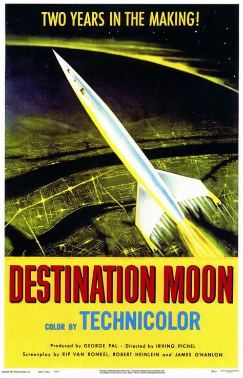 Destination Moon Movie Posters From Movie Poster Shop