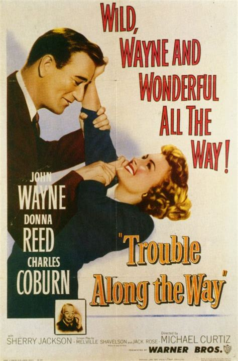 Trouble Along the Way Movie Posters From Movie Poster Shop
