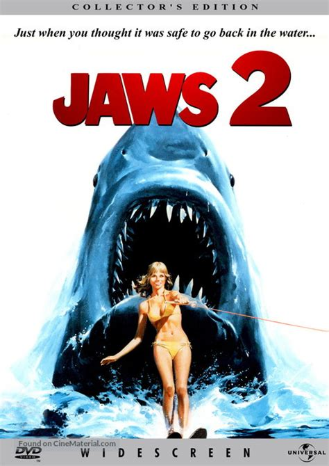 Jaws 2 dvd cover