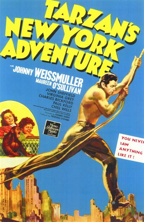 Tarzan's New York Adventure Movie Posters From Movie ...