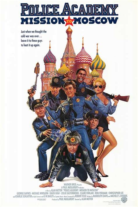 Police Academy 7: Mission to Moscow movie posters at movie ...