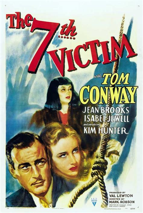 The Seventh Victim Movie Posters From Movie Poster Shop
