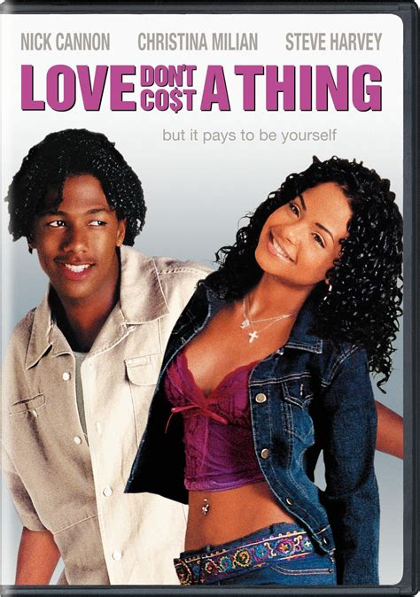 Love Don't Cost a Thing DVD Release Date April 27, 2004