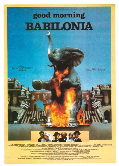 Good Morning, Babylon Movie Posters From Movie Poster Shop