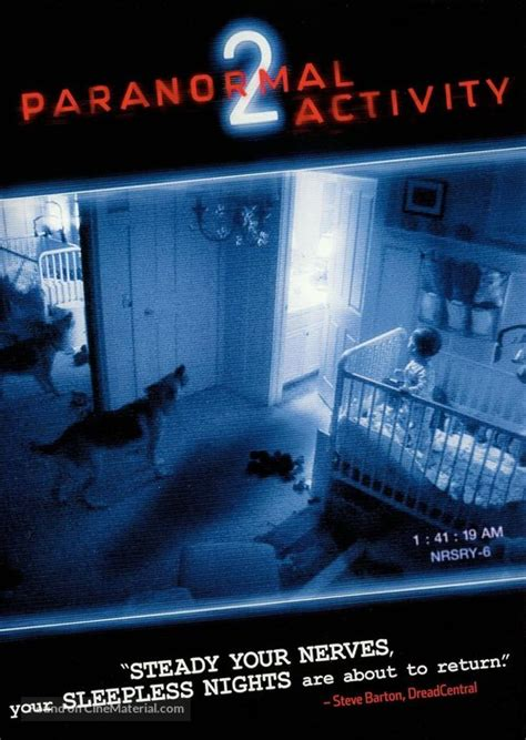 Paranormal Activity 2 dvd cover
