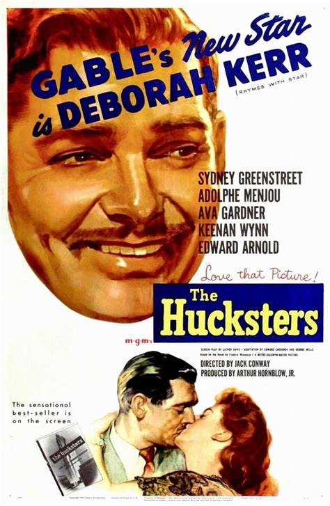 The Hucksters Movie Posters From Movie Poster Shop