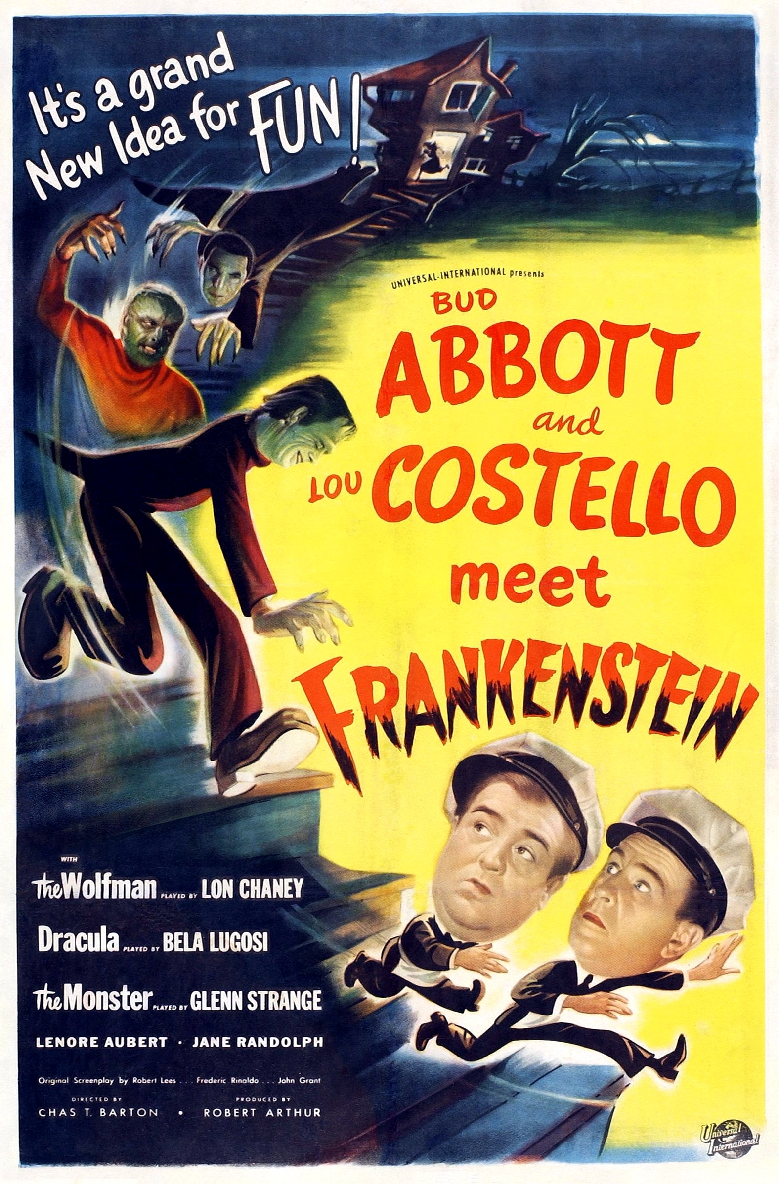 Abbott and Costello Meet Frankenstein [1948]