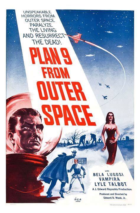 Poster for Plan 9 from Outer Space (1959, USA) - Wrong ...