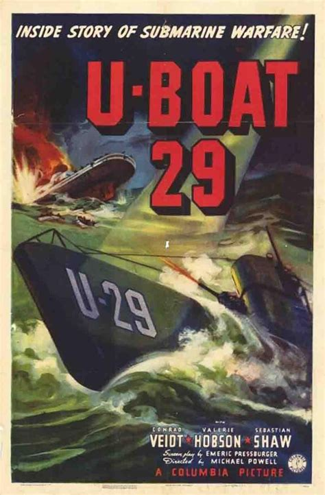 Vagebond's Movie ScreenShots: Spy in Black, The (U-Boat 29 ...