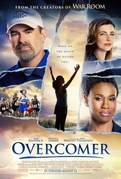 Overcomer Movie Poster : Teaser Trailer
