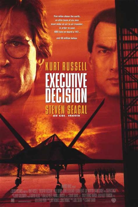 Executive Decision Movie Posters From Movie Poster Shop