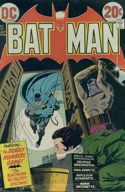 "Batman #250 - The Deadly Numbers Game! and ""The ""Batman ..."