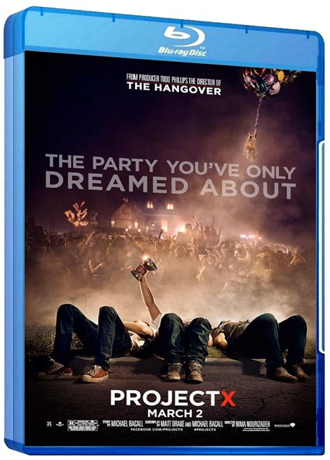 Latest Bluray & HD Covers: Project X 2011 Movie BluRay HD ...