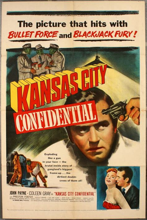 Kansas City Confidential (United Artists, 1952). One Sheet ...