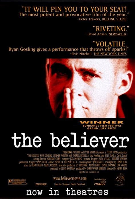 The Believer Movie Posters From Movie Poster Shop