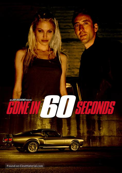 Gone In 60 Seconds dvd cover