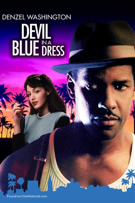Devil In A Blue Dress movie cover