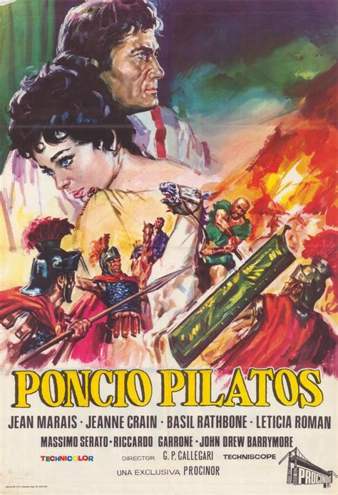 Pontius Pilate Movie Posters From Movie Poster Shop