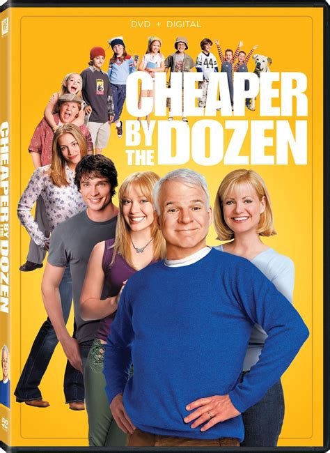 Cheaper by the Dozen DVD Release Date April 6, 2004