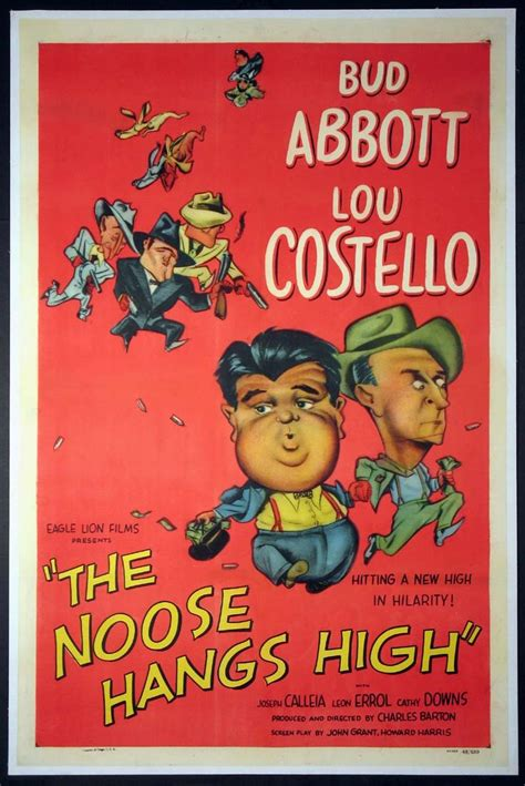 The Noose Hangs High (1948) poster #planetofpop | Abbott ...