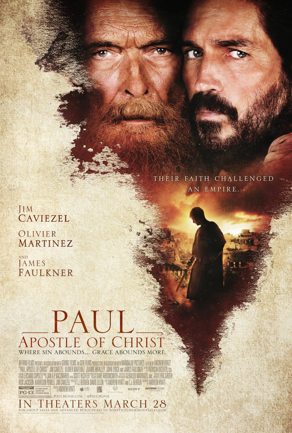 Paul, Apostle of Christ [2018]